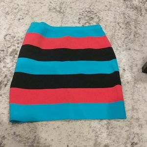Bebe knit stretchy skirt